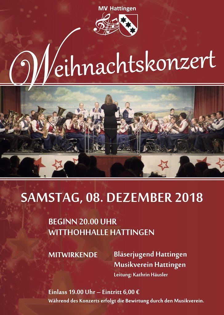 Einladung zum Weihnachtskonzert
